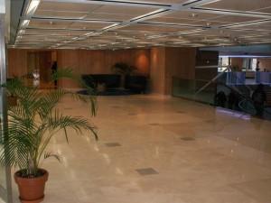 Salle d'attente Allianz