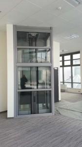 Arrivée ascenseur BNP